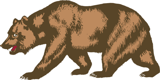 vector black and white stock Grizzly clipart. Free cliparts download clip