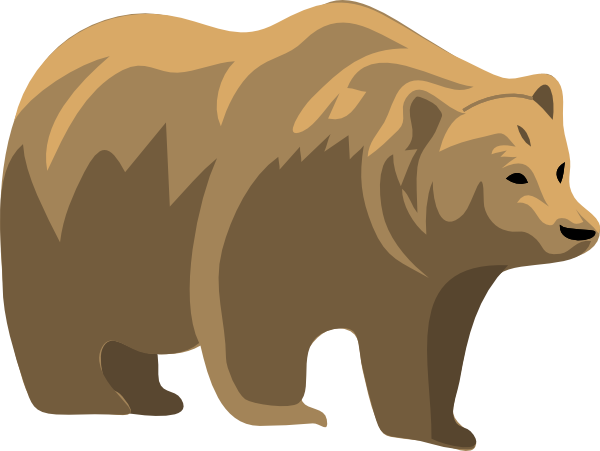 graphic free stock Grizzly free on dumielauxepices. Brown bear clipart