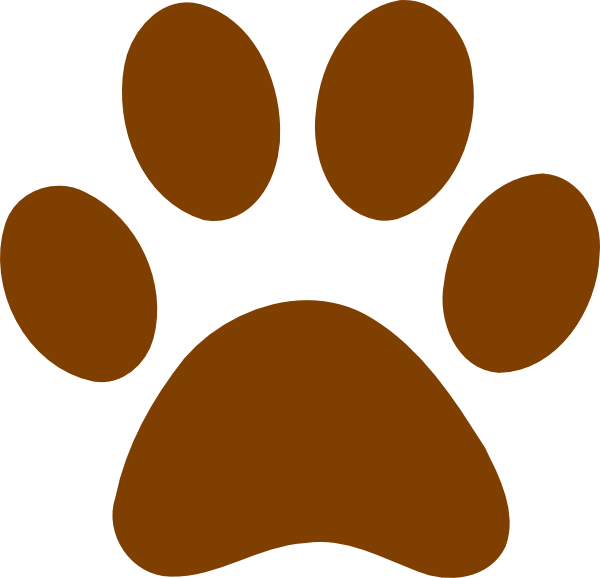 picture royalty free stock Grizzly clipart bear footprint. Paw print free on