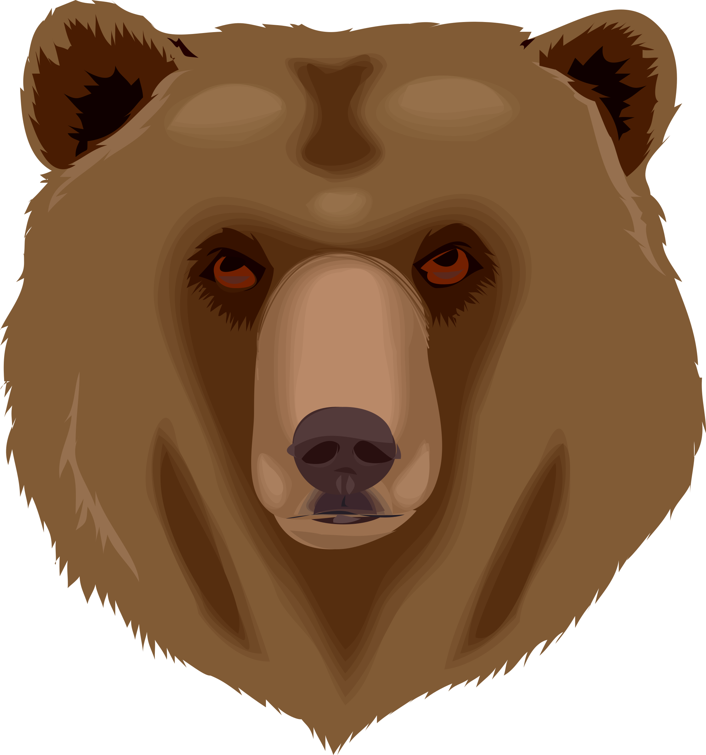 transparent download Architetto orso bear big. Grizzly clipart clip art