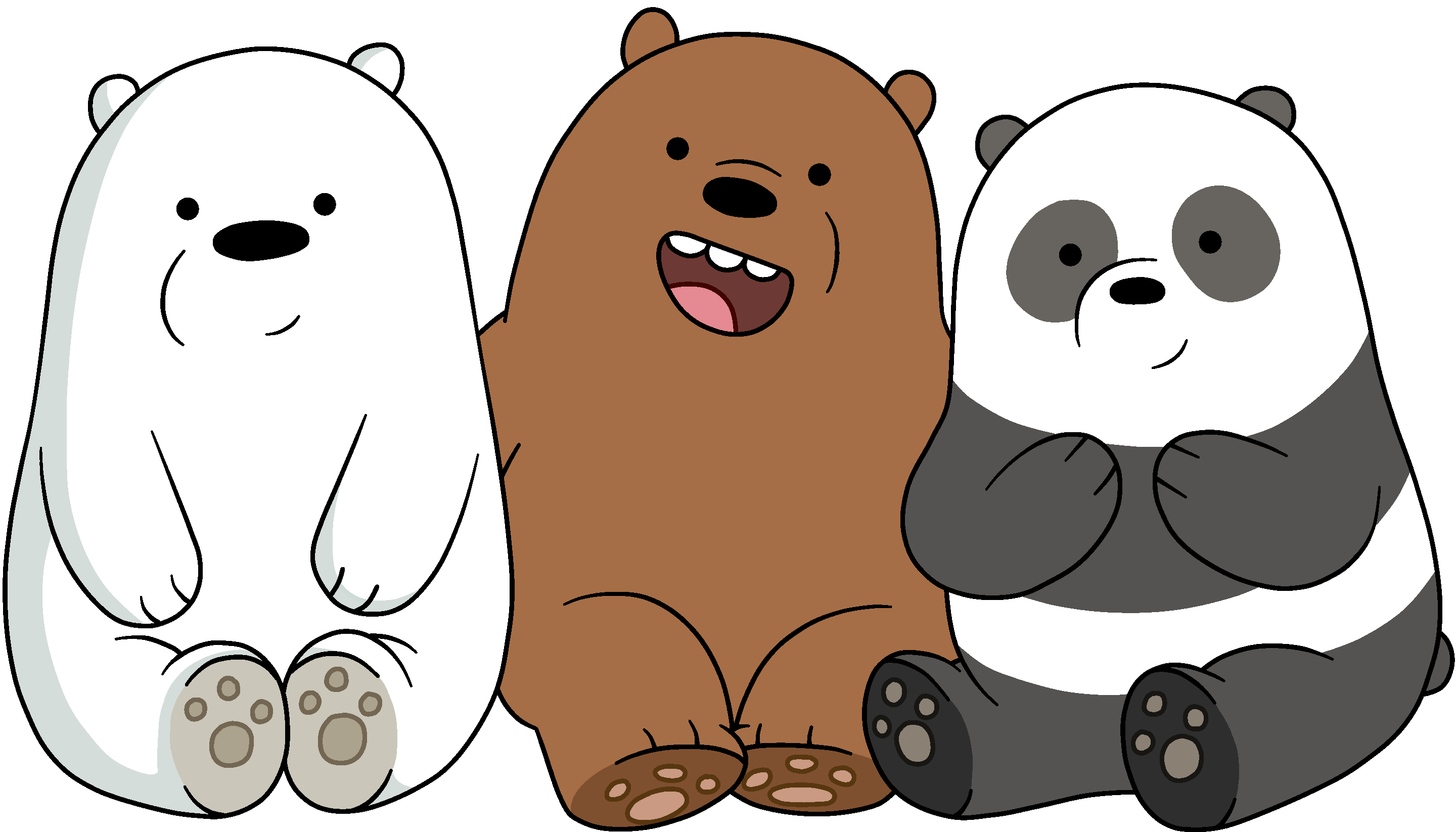 svg royalty free Grizzly clipart little bear. The bears we bare