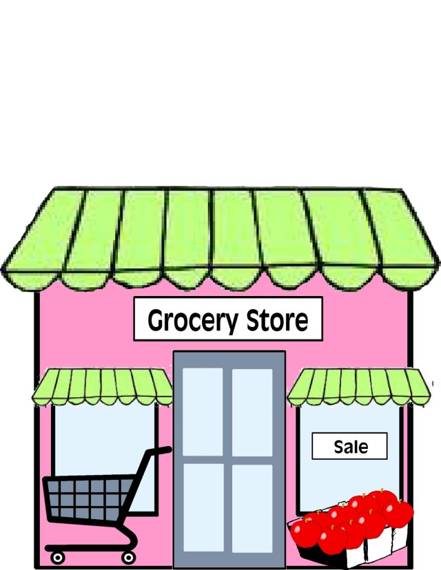 clip art royalty free Free grocery bag download. Supermarket clipart general store