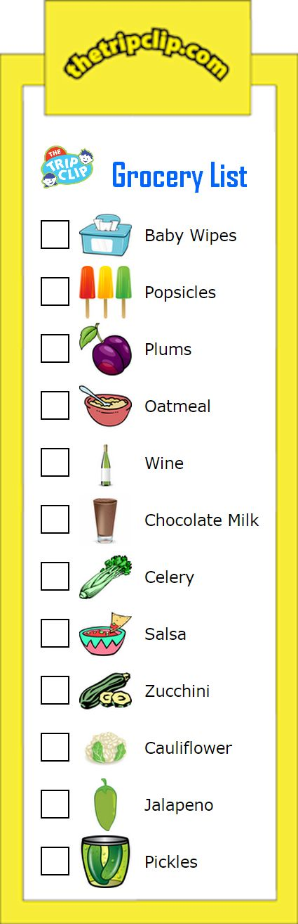 graphic royalty free Grocery clipart checklist. Free cliparts shopping list