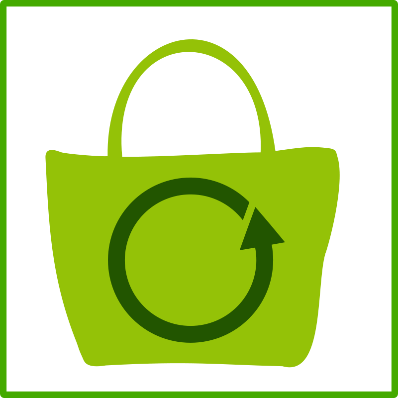 clip art library Grocery clipart eco bag.  collection of high