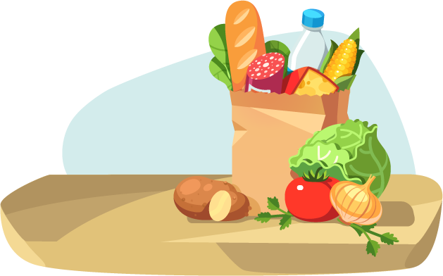 image library download Grocery clipart expensive food. Pricing information meat delivery