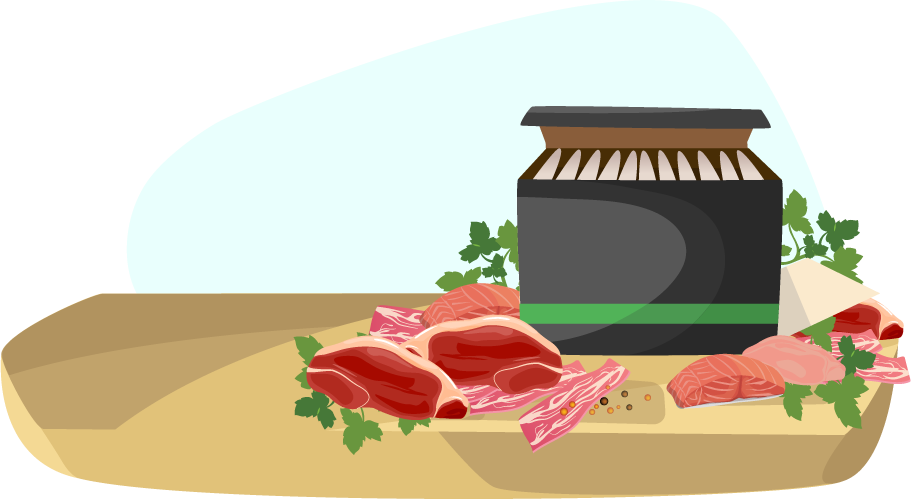 image library download Pricing information meat delivery. Grocery clipart expensive food