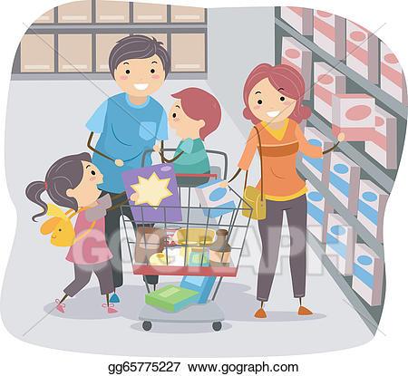 clip free download Clip art vector stickman. Supermarket clipart go to store