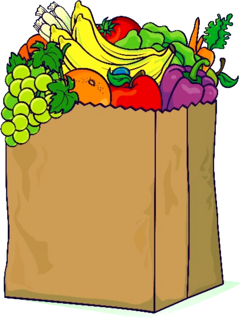vector free download Grocery clipart sack. Grocer