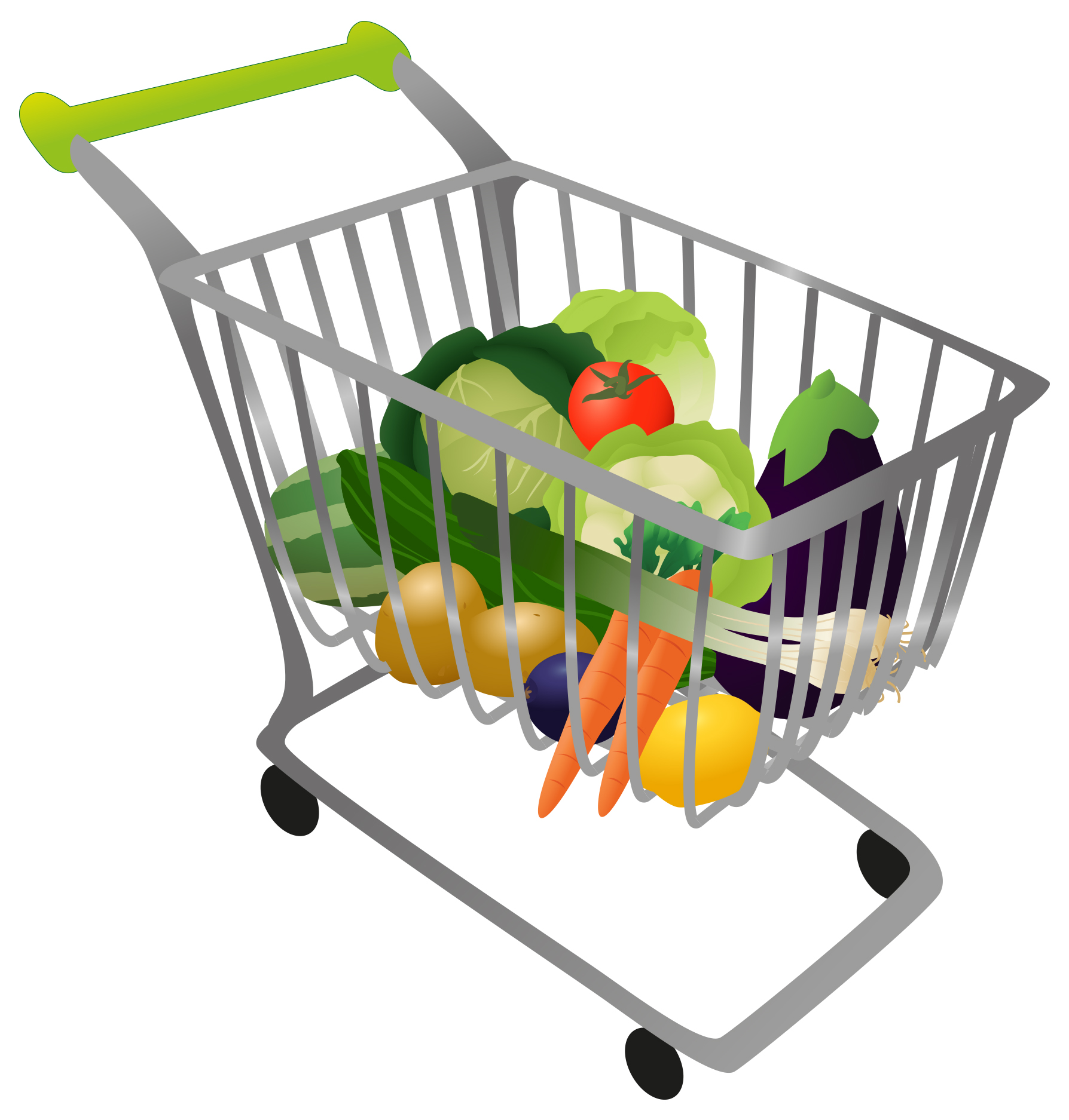 image transparent library Free basket cliparts download. Grocery clipart shopping trolley