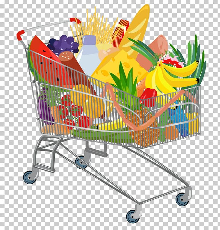 clip art transparent download Grocery clipart shopping trolley. Supermarket cart euclidean png