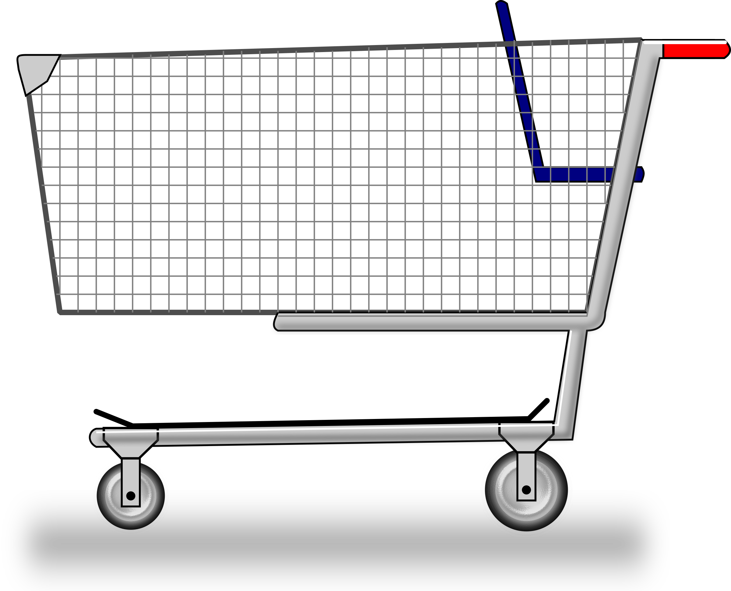 clipart download Supermarket clipart shopping trolly. Cart big image png