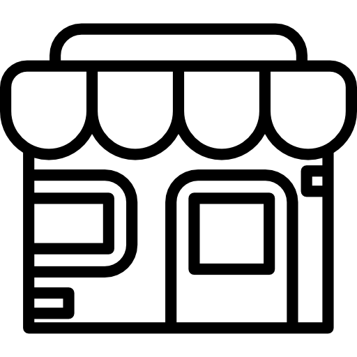 svg transparent library Shopper icon . Grocery store clipart black and white