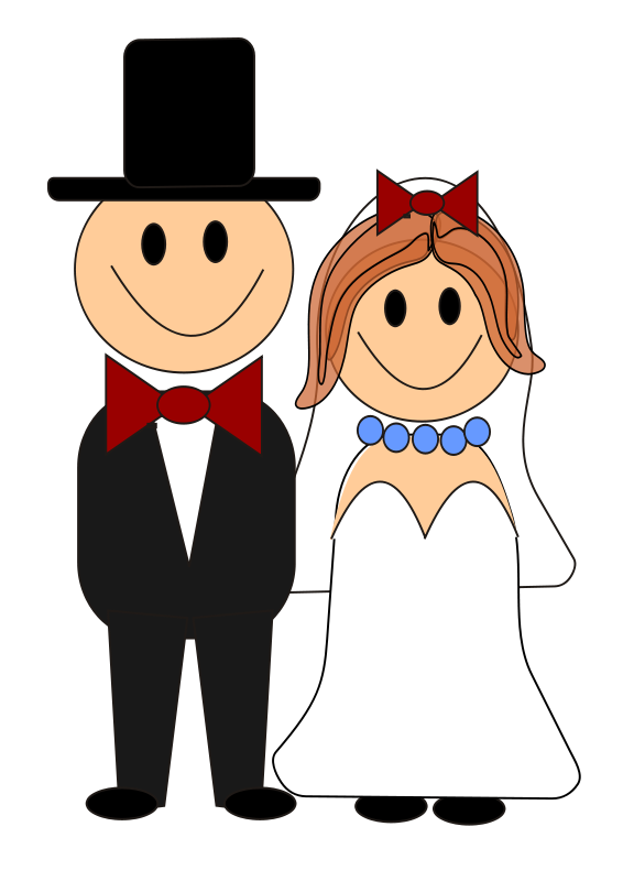 image stock Bride and graphics free. 2 clipart groom