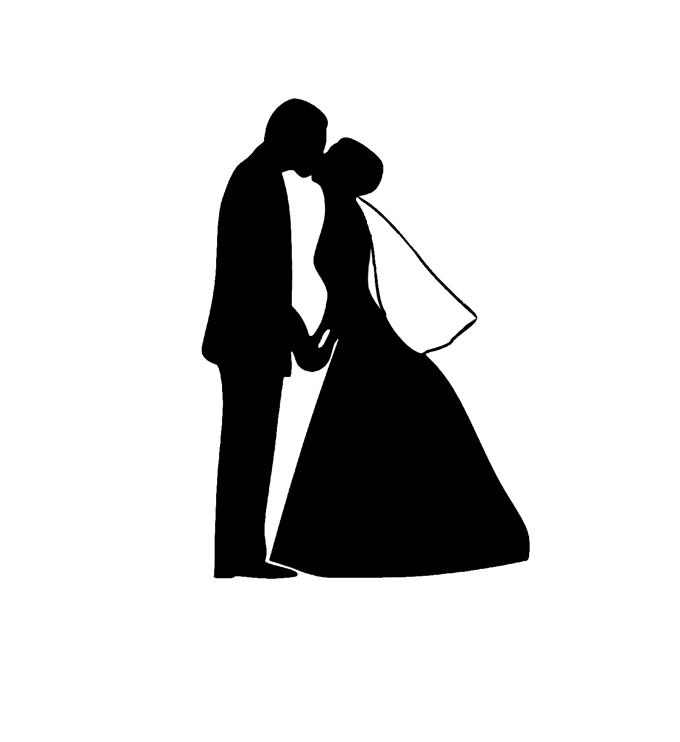 clip art royalty free Weddings free clipart cute. Bride and groom art