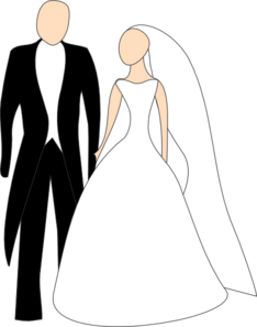 banner black and white library And clip art at. Groom clipart bride