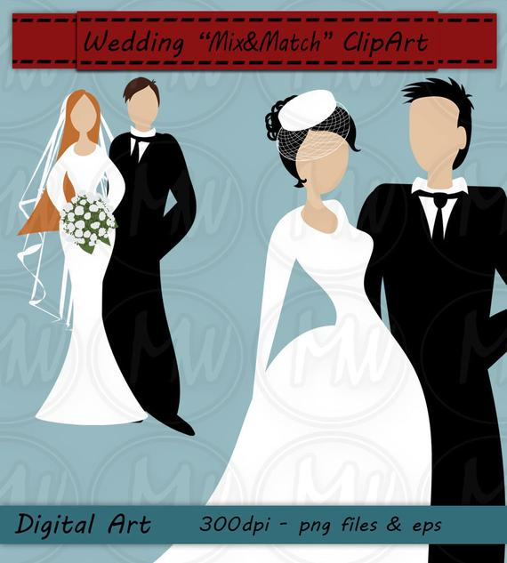 banner freeuse stock Wedding color bride clip. Groom clipart colored