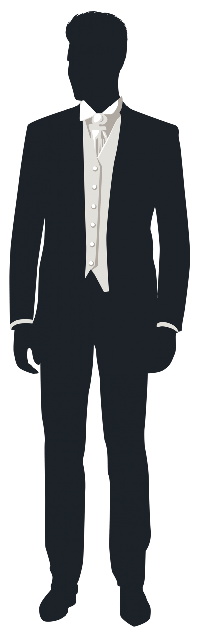 clipart black and white download Download free png transparent. Groom clipart