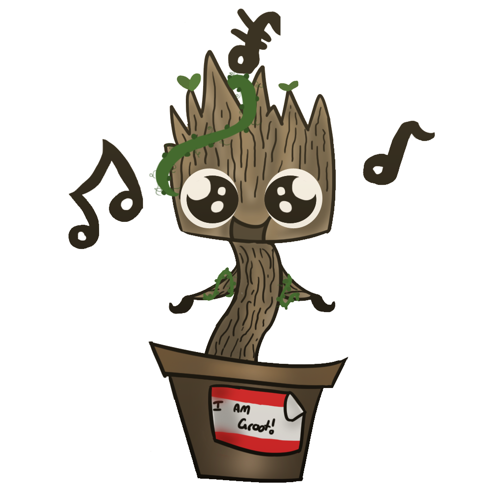 banner free download Baby groot by Arobicayo on DeviantArt