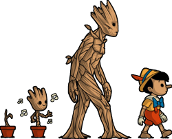 banner royalty free Galactic evolution baby the. Groot vector