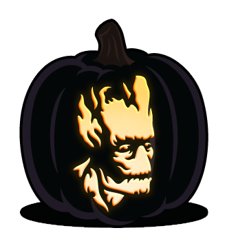 picture free stock guardians of the galaxy pumpkin stencil