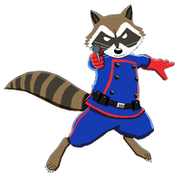 clipart free Rocket Raccoon Silhouette at GetDrawings