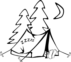 png library download Free Black Camping Cliparts