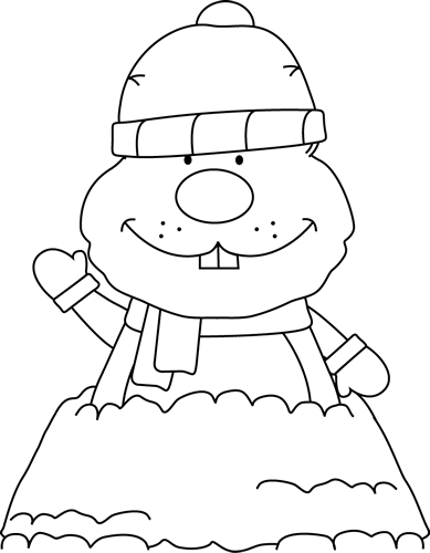 banner transparent Groundhog Day Clip Art