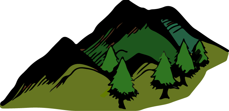 clipart royalty free download Ground clipart moutains. Mountains hill free on