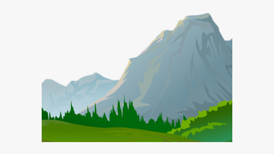 picture freeuse stock Ground clipart moutains. Mountain view cartoon transparent