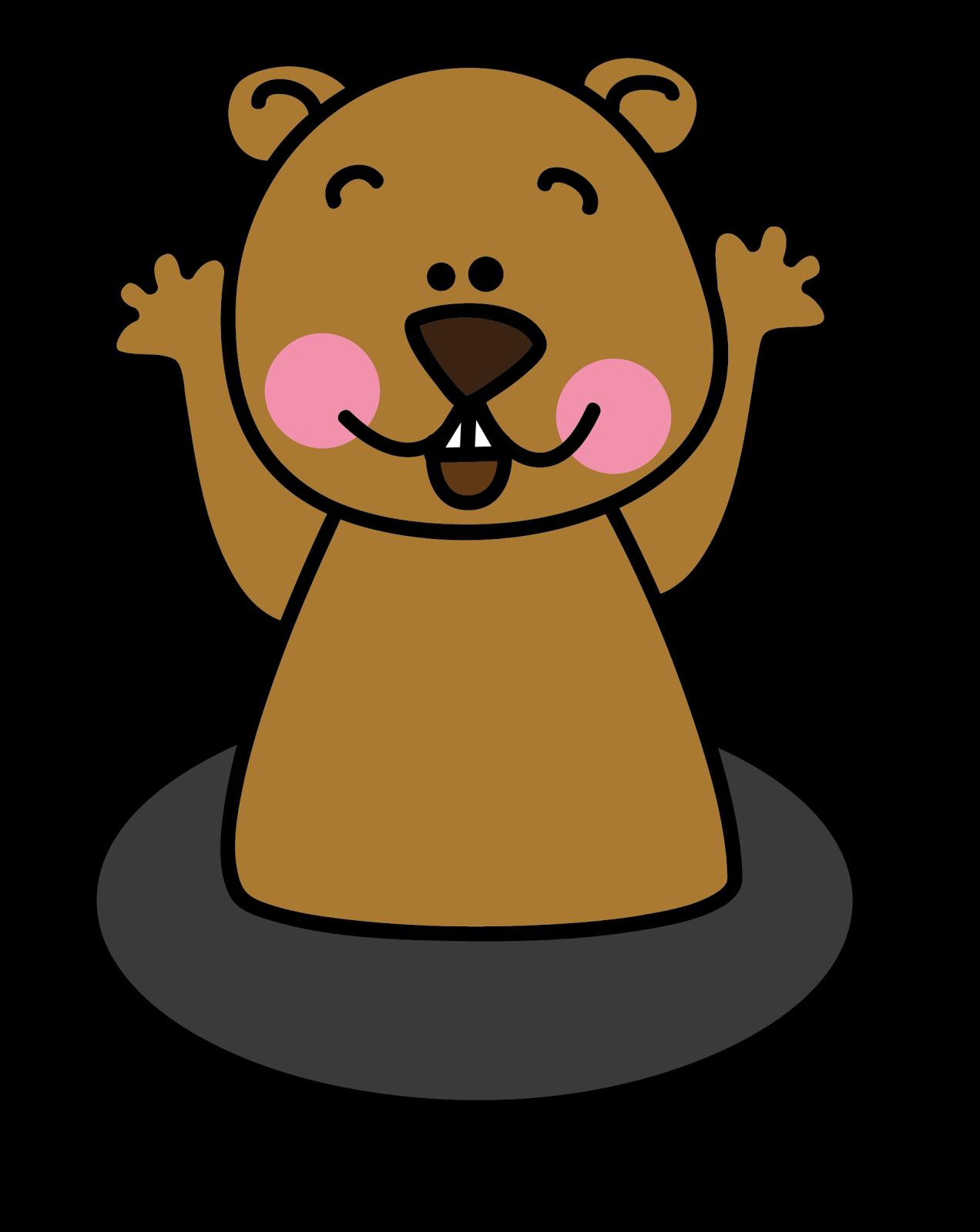 clip art transparent Groundhog clipart. Free cliparts download clip.