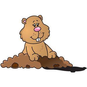 clip art Groundhog clipart. Cute mariana lara escobar.