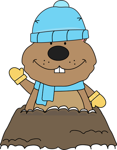 graphic free stock Day clip art images. Groundhog clipart