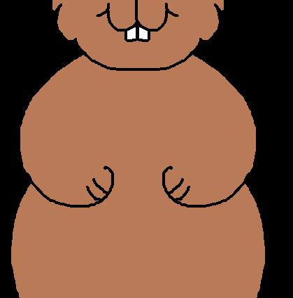 free Free Groundhog Clipart at GetDrawings