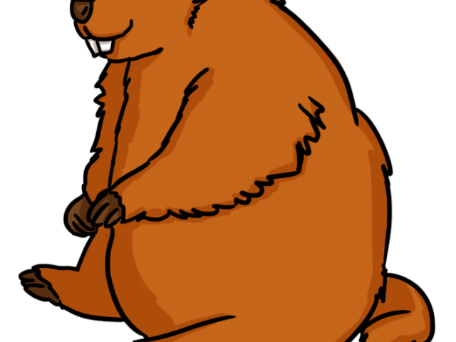 image royalty free library Groundhog clipart cartoon. Free on dumielauxepices net