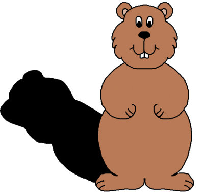 graphic black and white stock Clipartaz free collection day. Groundhog clipart kid