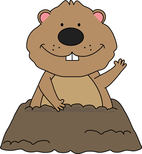 clip royalty free Free teaching and graphics. Groundhog clipart tomorrow