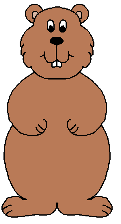 clipart free library Pictures free clip art. Groundhog clipart transparent