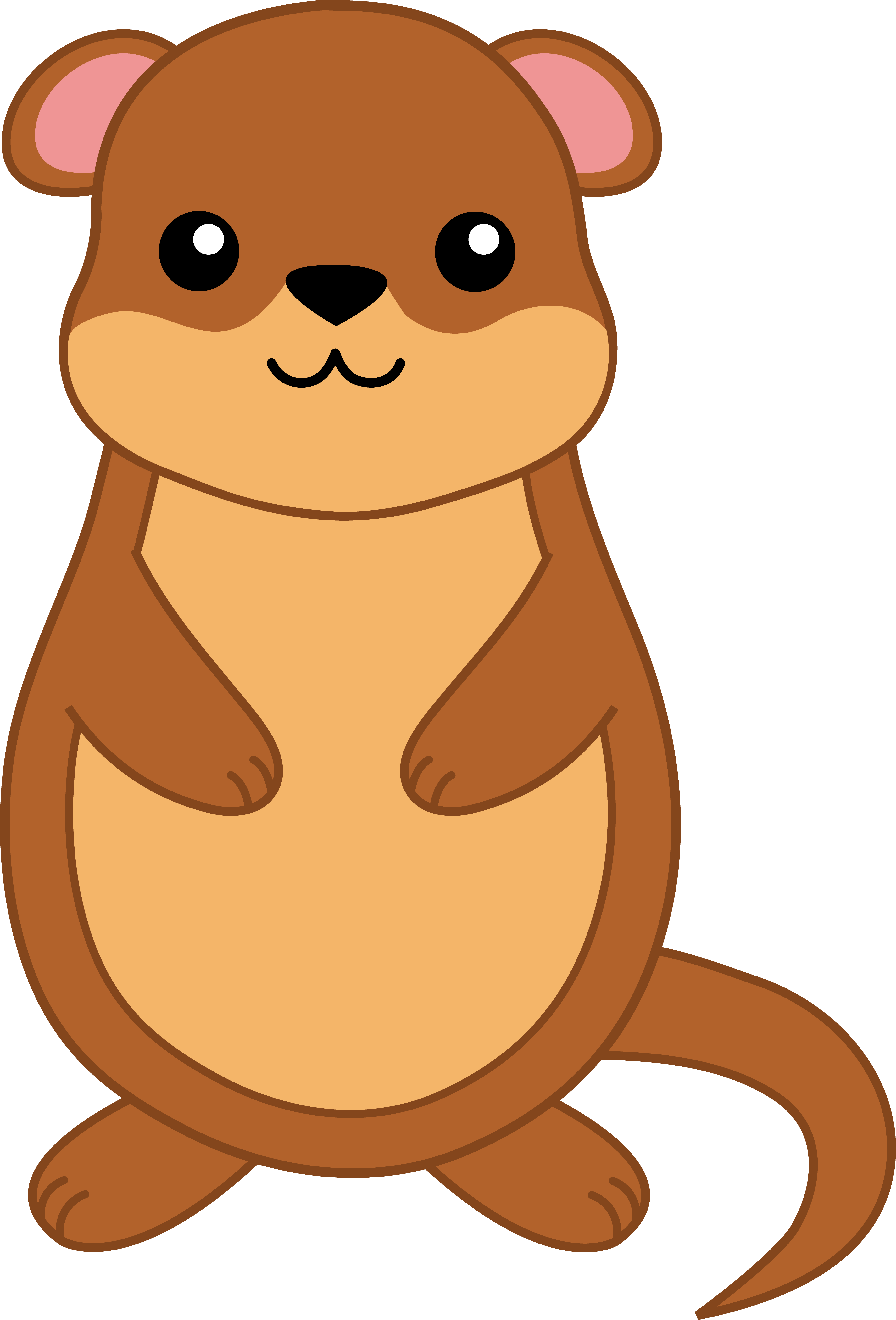 clip transparent library Treemap groundhog . Chipmunk clipart cute drawing