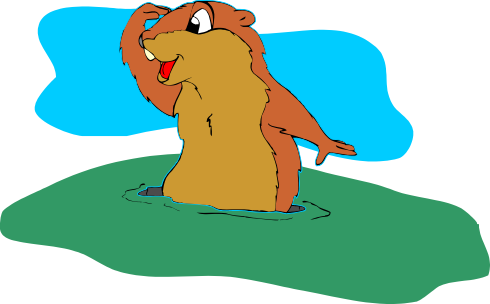 banner black and white stock Groundhog clipart transparent. Day if this is