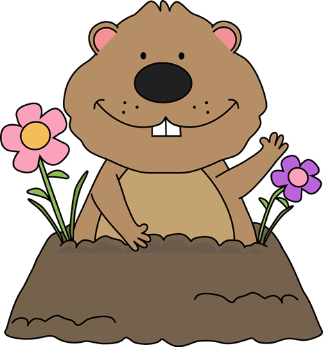 clip art royalty free library Pictures free day clip. Groundhog clipart woodchuck