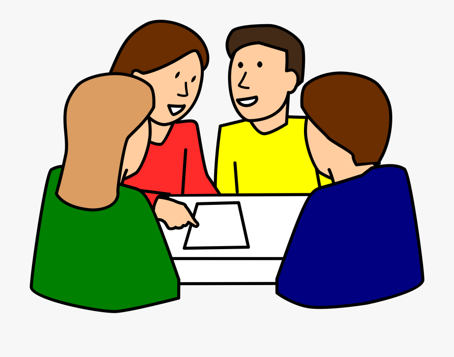 banner stock Group clipart. Of people studying free