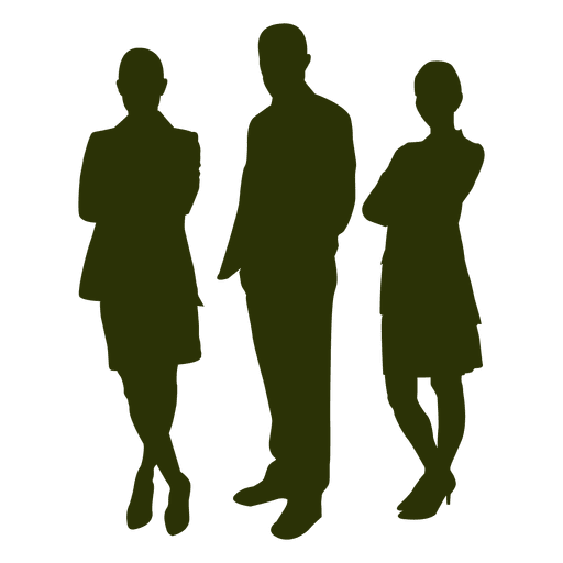 vector freeuse stock People silhouette transparent png. Vector business person