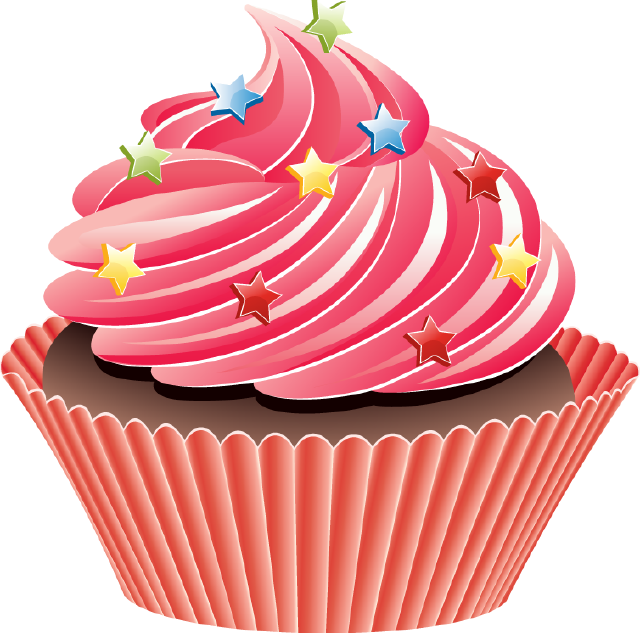 vector royalty free stock The top best blogs. Group clipart cupcake