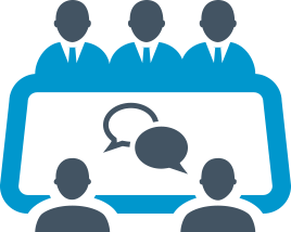 picture royalty free stock Group clipart focus group. Panels discussion free on
