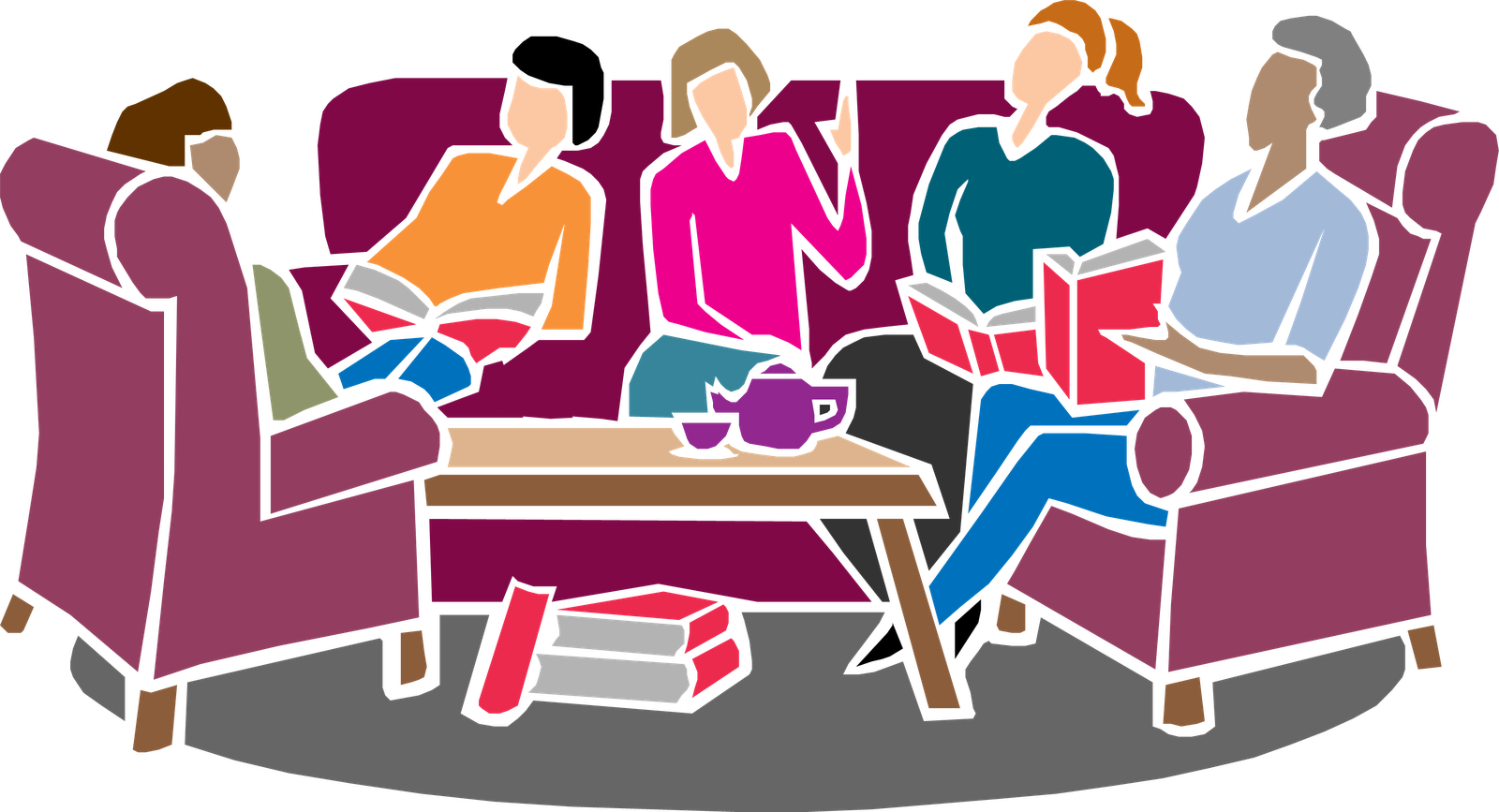 graphic free library Groups . Group clipart prayer