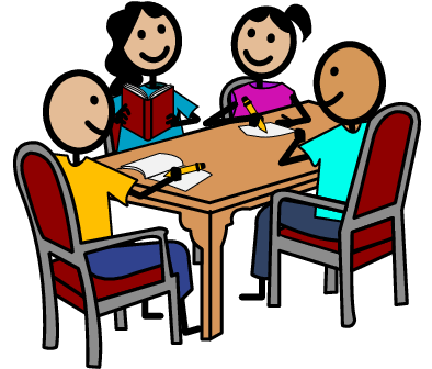 transparent library group project clipart #64356662