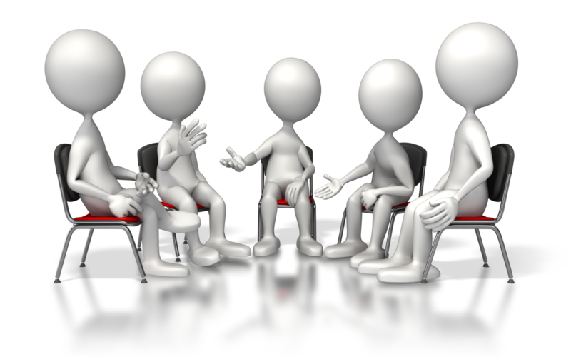transparent download Group discussion clipart.  collection of png.