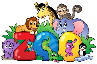 jpg black and white download Free cliparts download clip. Group of zoo animals clipart