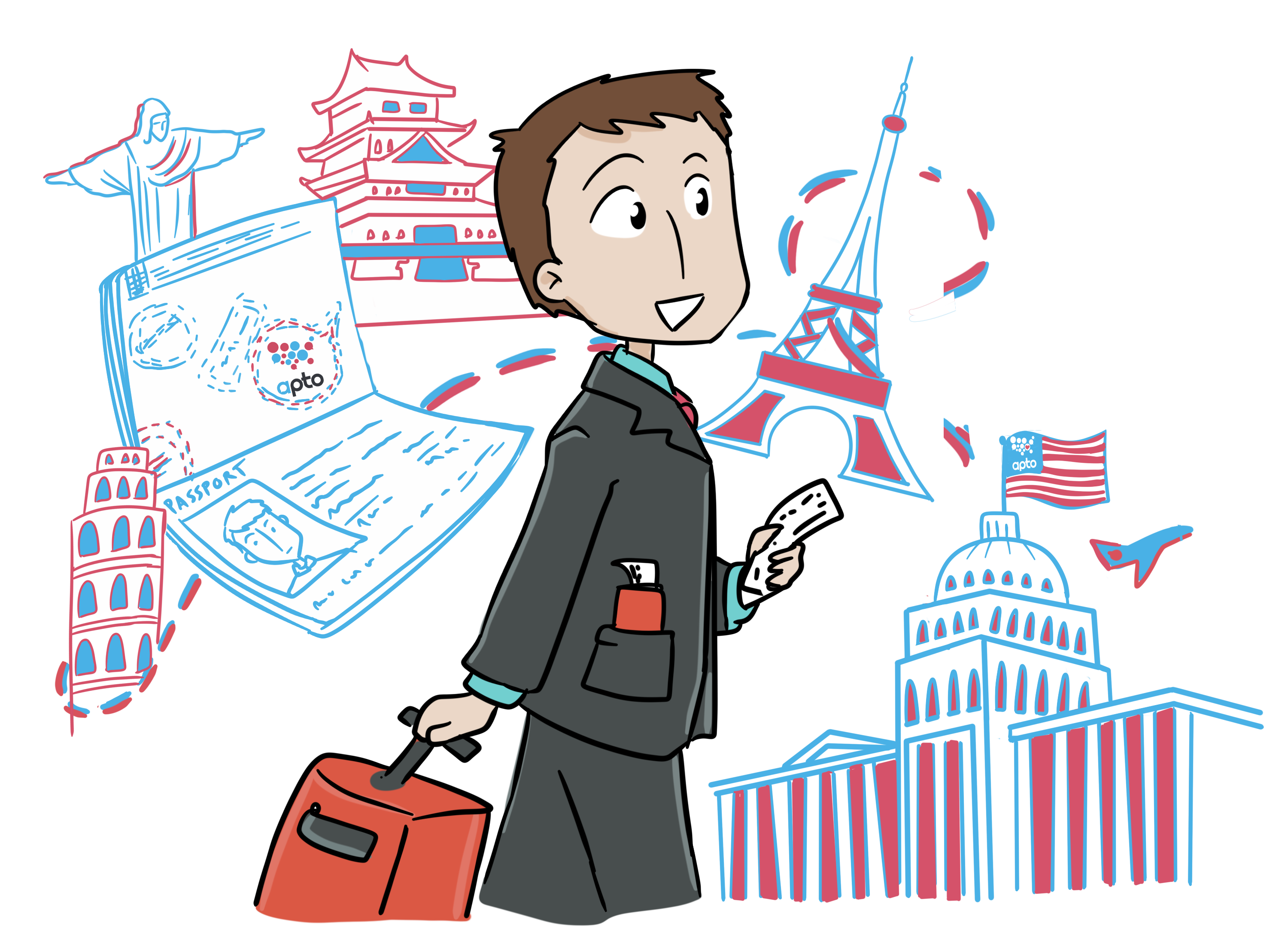 jpg library Growth clipart job enrichment. Pricing apto travel like