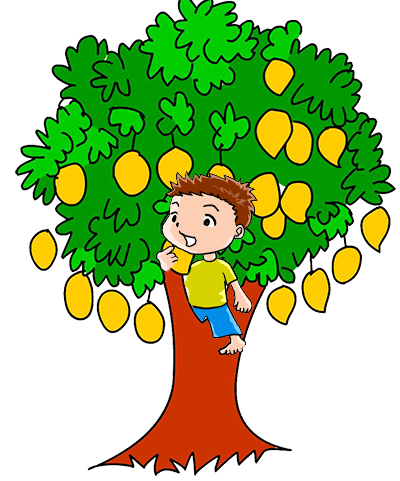 vector free Growth clipart mango tree. What was it like